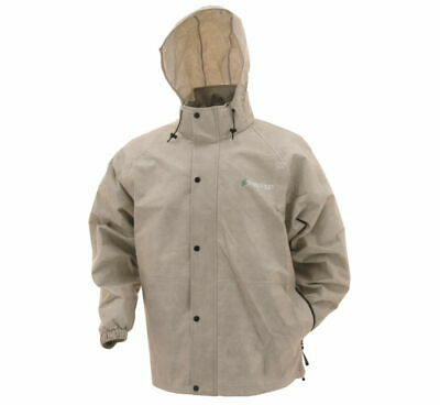 Frogg Toggs Pro Action Rain Jacket Tan PA63123-04-LG L