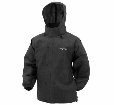 Frogg Toggs Pro Action Rain Jacket Black PA63123-01-LG L