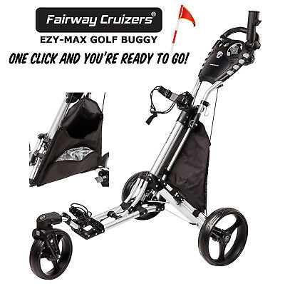 """GOLF BUGGY EZY-MAX Compact Design - """"One Click & You're Ready To Go!"""