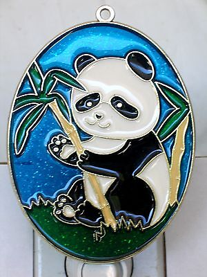"Stained Glass Style "" Panda""  Night Light-Great Gift For All Occasions!"