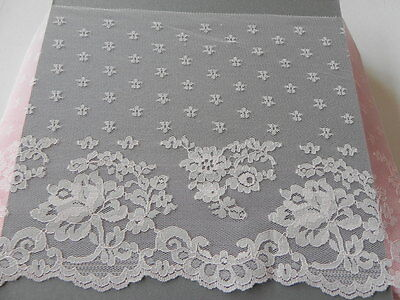 Card of New very Wide Lace - Pink
