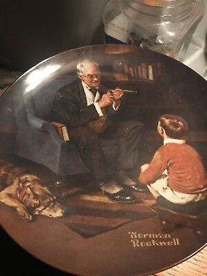 """Norman Rockwell """" The Tycoon"""""""