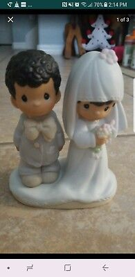 Precious Moments The Lord Bless You And Keep You Bride/Groom -wedding couple