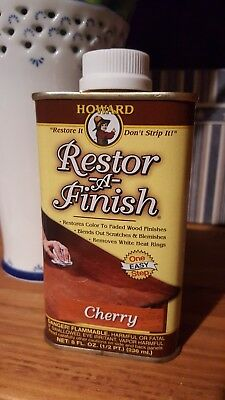 Howard Restore-A-Finish 8 0z Cherry FREE SHIPPING!