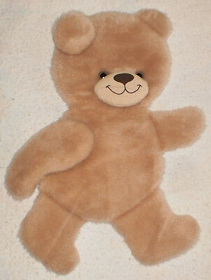 Fuzzy Teddy Bear Wall Hanging Nursery Child's Room