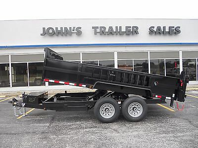 """Brand New 2018 83""""x16' Dump Trailer 14,000# Gvwr Loaded New Year Special Price$$"""