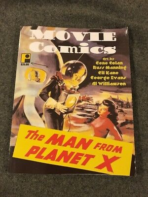 VRY Rare Vintage SCIFI movie adapt Comics reprints MAN FROM PLANET X,LOST WORLD