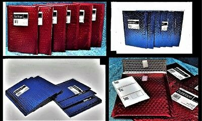 Mailers X12 = Red(6)/Blue(6) Velcro Closure Made in USA SAME DAY SHIP