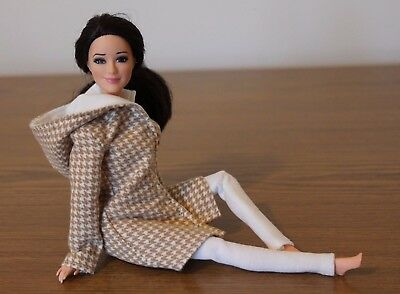 Clothes for Barbie Doll., Hooded Coat and Leggings for Dolls.