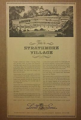1941 Strathmore Village Real Estate Ad New York