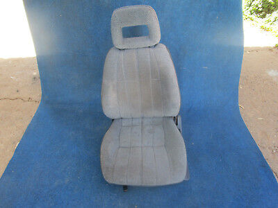 Nissan S12 Gazelle Factory Passenger Seat & Rails LHF Left Interior Trim Blue