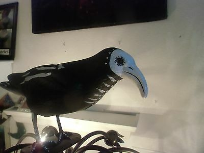 Day Of The Dead- Magnificent Big Crow-  Folk Art