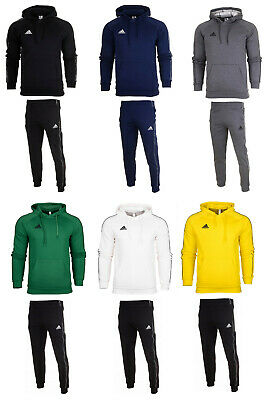 Adidas Core 18 Mens full tracksuit Hoodie Top Bottoms Pants Training