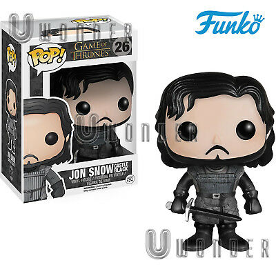 JON SNOW Castle Black # 26 Funko POP Vinyl Figure Game of Thrones Trono di Spade