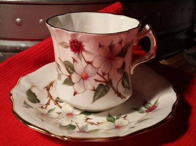 Hammersley & Co. Dogwood Blossom Cup and Saucer