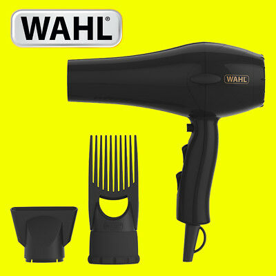 Wahl ZY017 PowerPik 2 Turbo Afro Hair Dryer with Afro Comb Pik Attachment 1500W