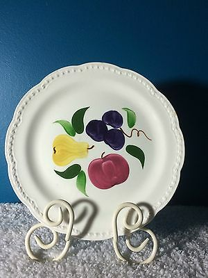 """Heritage Ware Stetson Hand Painted 9-1/2"""" Plate/Charger -Discontinued Pattern-"""