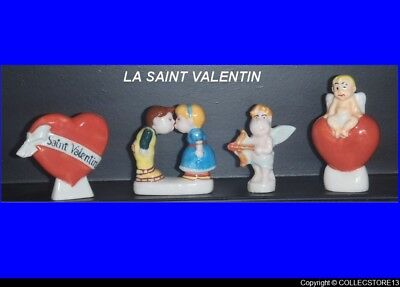 Dvo543    Serie Complete  De Feves  La Saint Valentin   Feves Medium