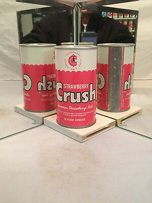 Very tough Strawberry Crush Soda Can in phenominal shape!