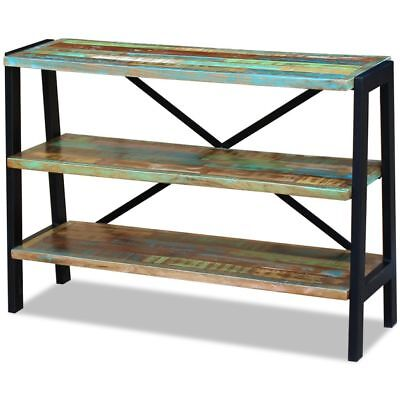 110m Recycled Wood Rustic Look 3 Shelf Shelves Bookcase Storage Display Stand
