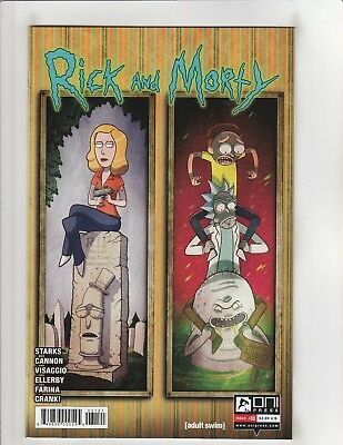 Rick and Morty #31 NM- 9.2 Cover B Oni Press