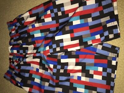 Boys swimsuit Under armour new NWT shorts youth large YLG drawstring