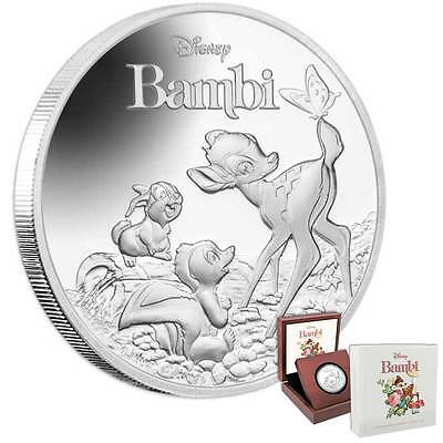 Bambi 75th Anniversary 1oz Proof Silver Coin