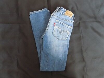 Girl Levis Skinny Jeans Size 7 Regular