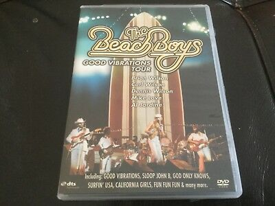 The Beach Boys Good Vibrations Tour DVD Live 1976 15 Big Ones Tour Brian Wilson