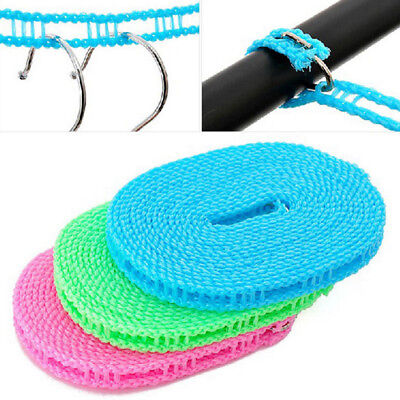 Non-slip Washing Clotheslines Outdoor Travel Business Clothes Line Rope Laundry