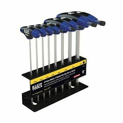 Klein Tools JTH68M Metric Journeyman T-Handle Hex Key Set with Stand (8-Piece)