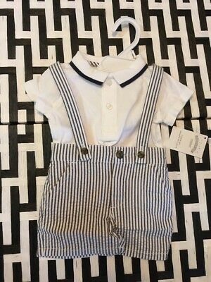 Gymboree Boys 3 to 6 months 2 piece set polo and shorts NWT