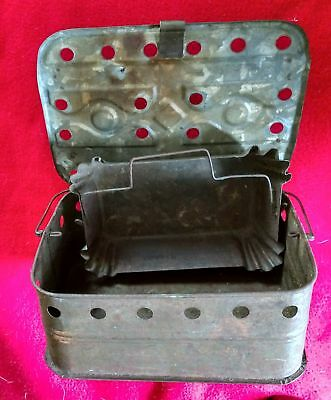 Antique  Late 1800's French Carriage Foot Warmer