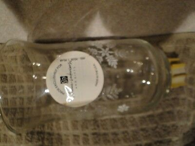 """One Retired Home Interior Snowflake Votive Cup Sconce Candle Holder 5"""" tall NEW"""