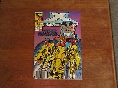 X-Factor #19 Marvel Copper Age 2Nd Appearance Of Apocalypse & The Horsemen Vf-