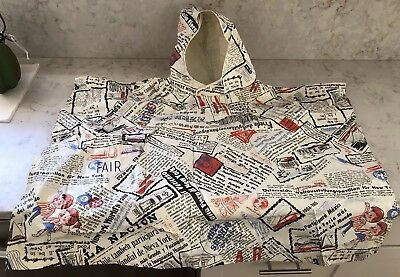 Vintage 1964 Unisphere New York World's Fair Child's Rain Poncho Jacket US Sz:L