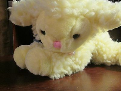 vintage A&A plush wind up musical lamb