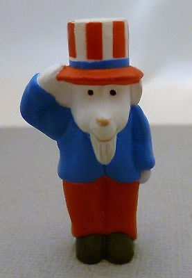 Hallmark Parriotic Merry Miniature 1993 Goat Uncle Sam with Top Hat