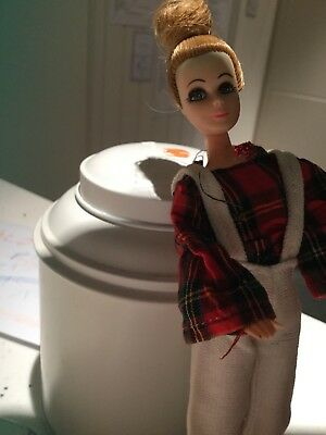 💕 1970's Pippa - Denise Doll in Bay City Rollers outfit!