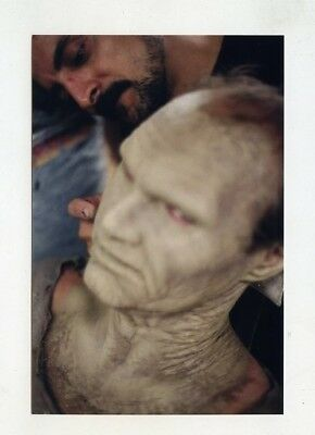 #h902 Day Of The Dead Zombie Horror Film Actor Face Makeup Art Tom Savini Photo