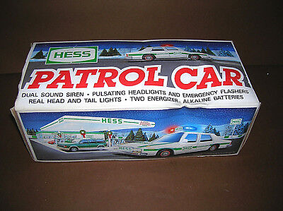 1993 Hess Toy Patrol Car In Original Box Collectible Vintage  Fully Tested