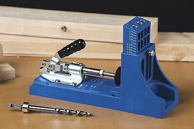 Kreg Jig K4 Pocket Hole System Jig with Dust Collection NEW