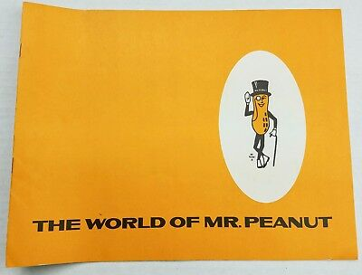 The World of Mr. Peanut Vintage Recipes Peanut Butter Advertising Booklet 1940s