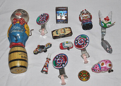 Vintage Rare Tin Toy Lot Japan Parts Pieces Repair