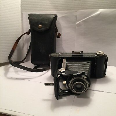 Kodak Junior Six-16 Series lll / Folding Pocket Camera/ W Case ! Preowned! 👀!!