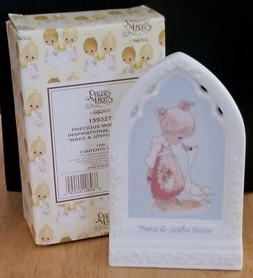 Precious Moments - Make A Joyful Noise - # 139327 - With Box - Plaque