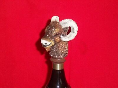 "RARE ""RAM HEAD""  (Shiner ?) PROTO-TYPE FIGURAL Beer Tap Handle - Rare No Label"