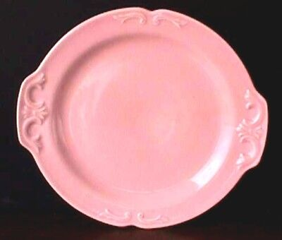 **edwind Knowles Pink Tab Handle Round Platter Uw29-E
