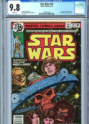 Star Wars #19 CGC 9.8 White Pages Marvel Comics 1979