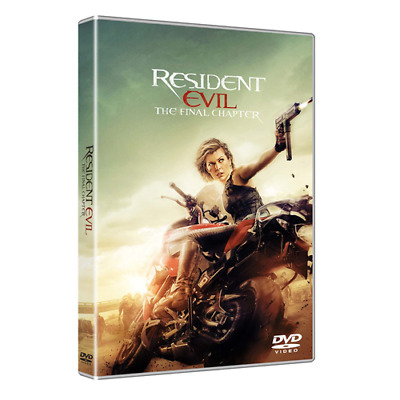 Resident Evil: The Final Chapter  [Dvd Nuovo]